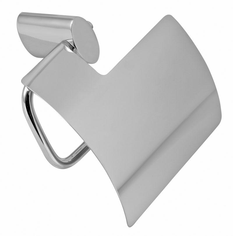 Závěs toaletního papíru s krytem Metalia 10 chrom