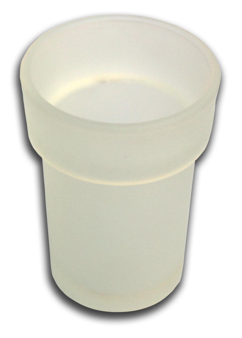 Náhradní sklenička sklo pískované