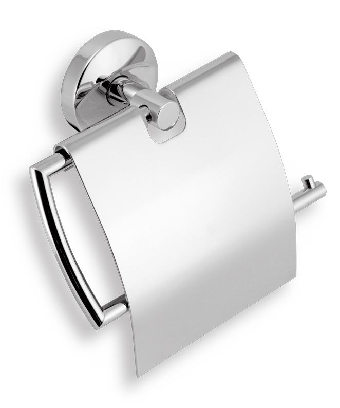 Závěs toaletního papíru s krytem Metalia 11 chrom