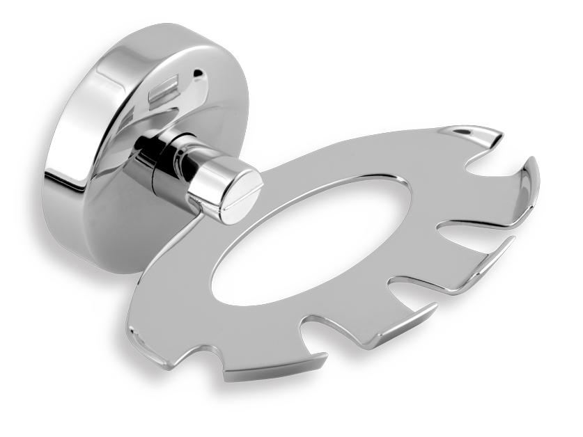 Držák kartáčů a pasty Metalia 11 chrom