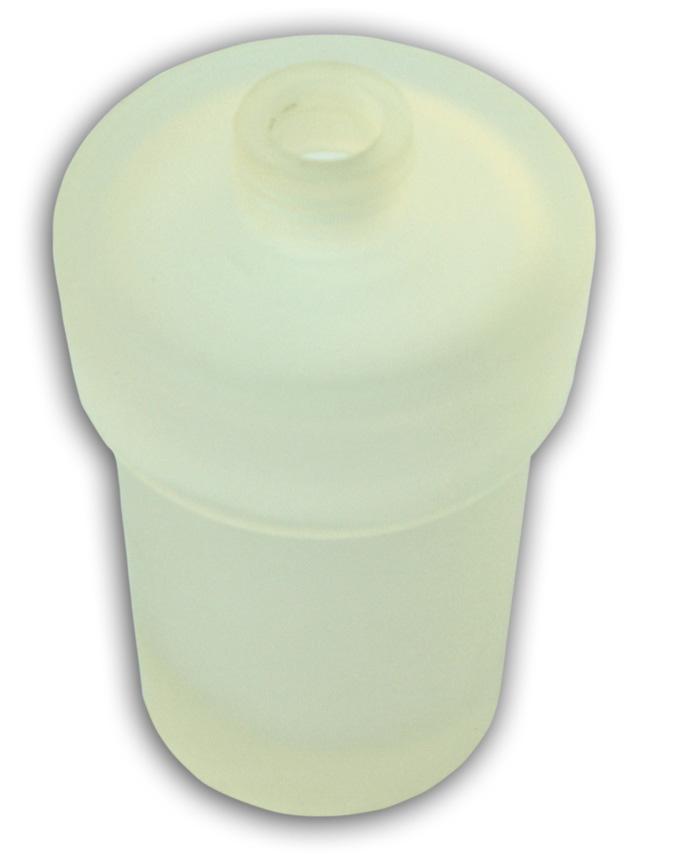 Sklo dávkovače mýdla pískované