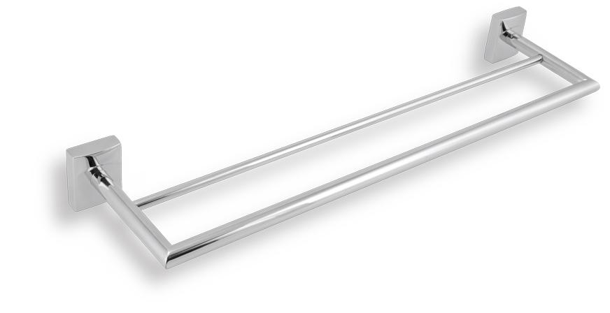 Dvojitý držák ručníků 500 mm Metalia 12 chrom