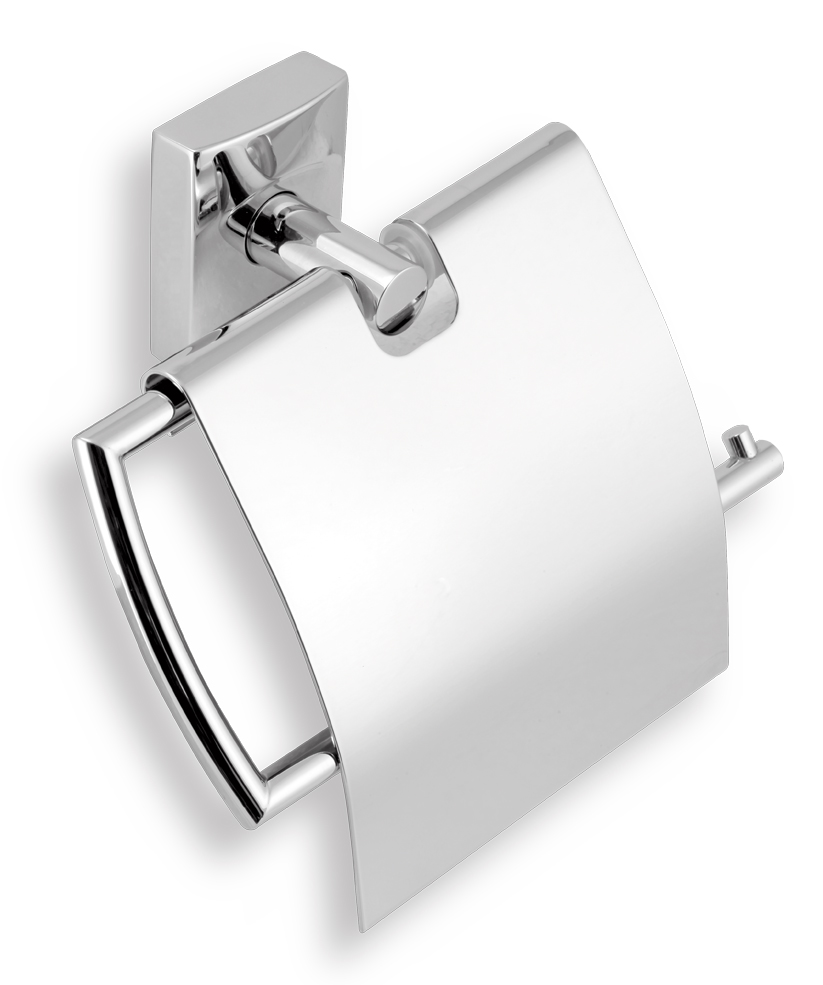 Závěs toaletního papíru s krytem Metalia 12 chrom