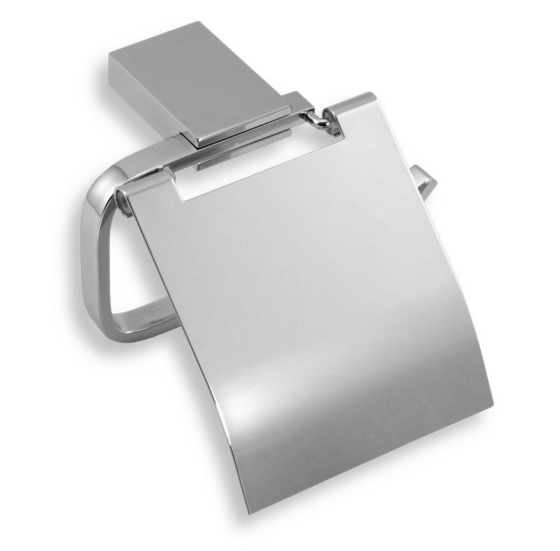Závěs toaletního papíru s krytem Metalia 9 chrom