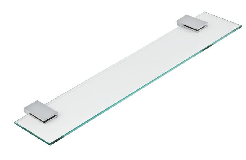 Polička rovná Metalia 9 chrom