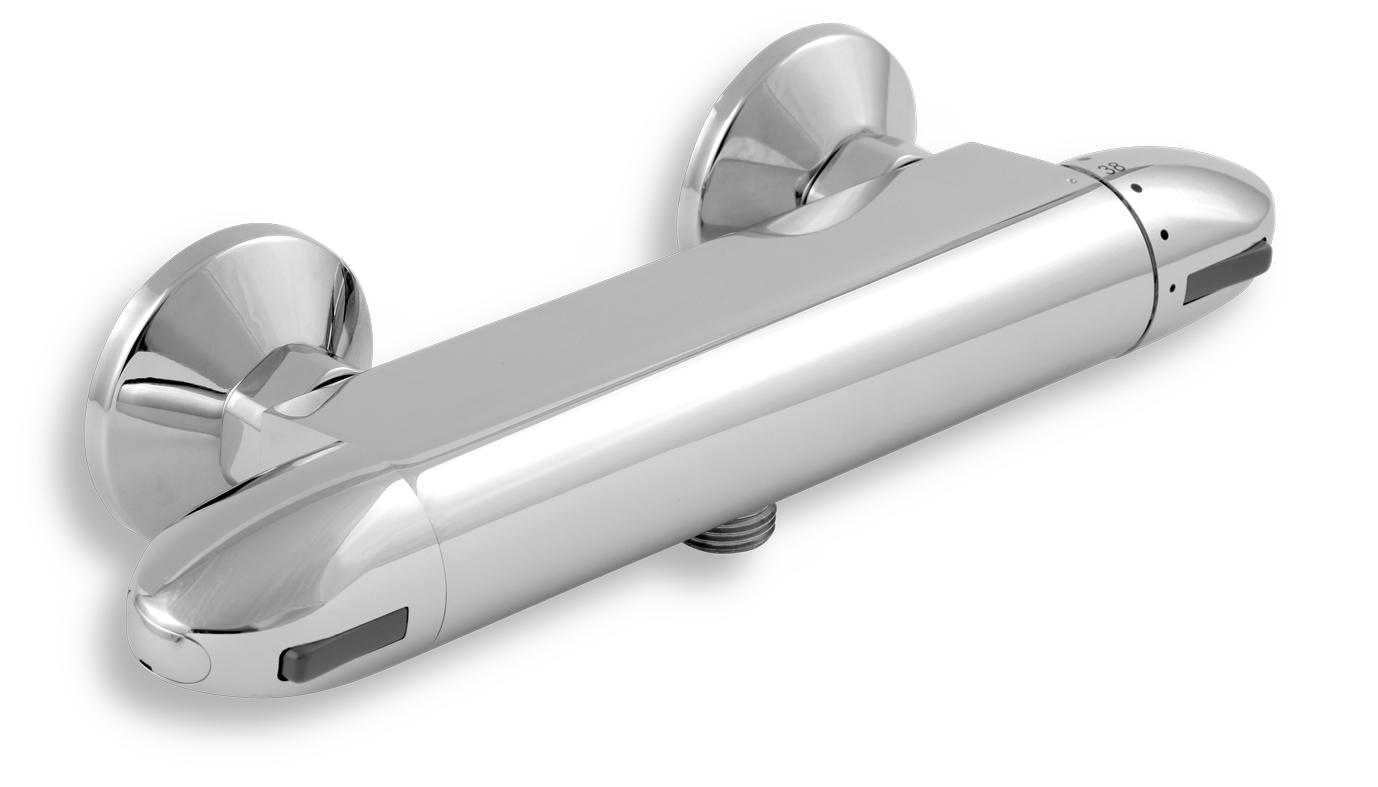 Sprchová termostatická baterie 150 mm, bez příslušenství chr