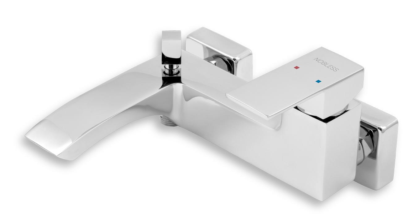 Vanová baterie bez příslušenství 150 mm EDGE chrom