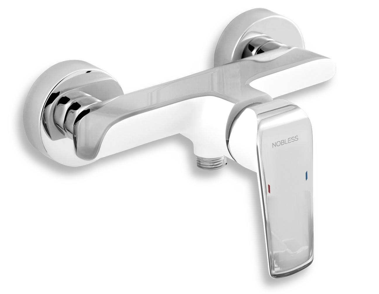 Sprchová baterie bez příslušenství Nobless Tina bílá/chrom