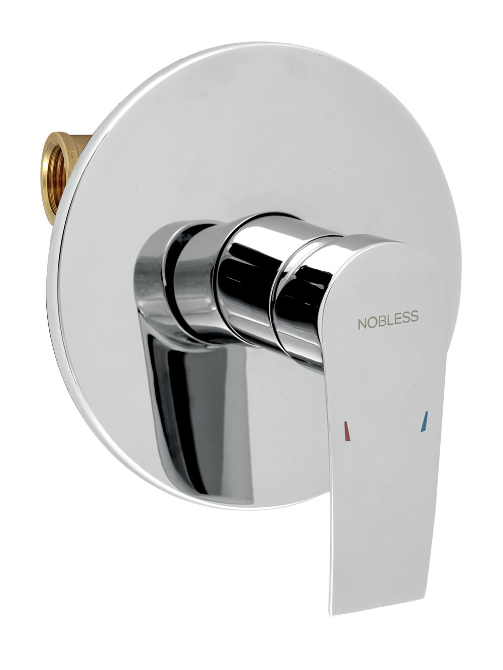 Sprchová baterie podomítková Nobless Heda chrom