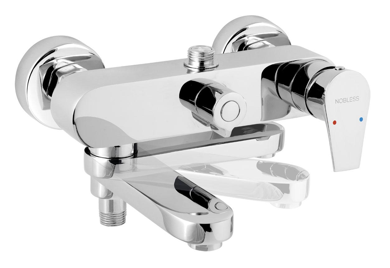 Novaservis Nobless Vision X Vaňová a sprchová batéria bez sprchovej súpravy 150 mm, chróm, 42023/1,0