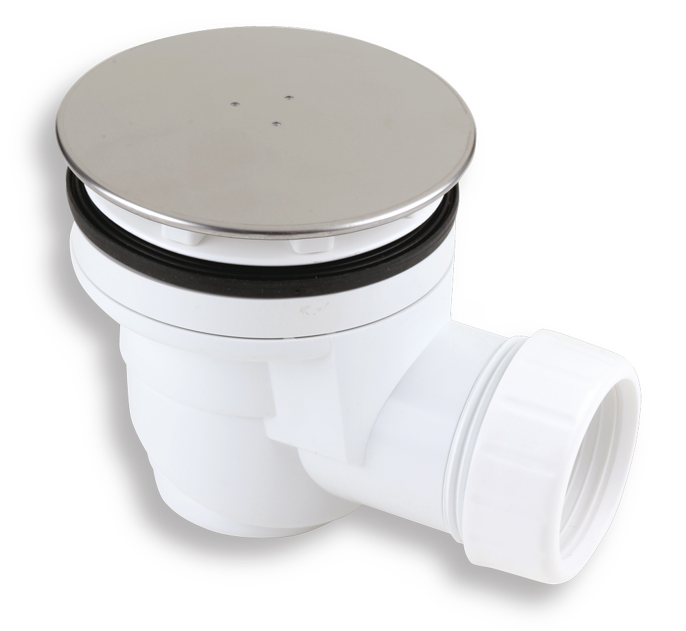 Sifon vaničkový 60/40 INOX plast