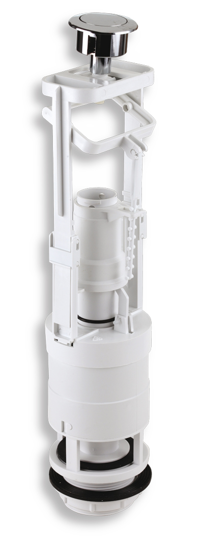Vypouštěcí ventil jednotlačítkový plast
