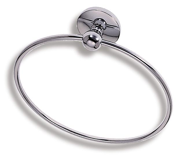 Kruhový držák ručníků Metalia 1 chrom