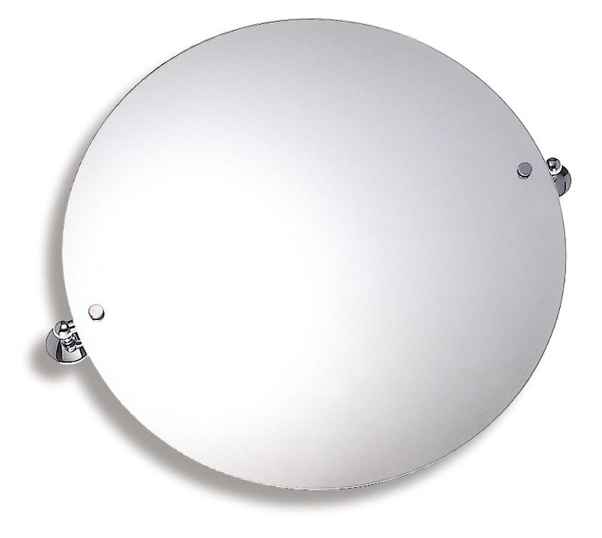 Zrcadlo s výklopným držákem kulaté 60 cm Metalia 1 chrom