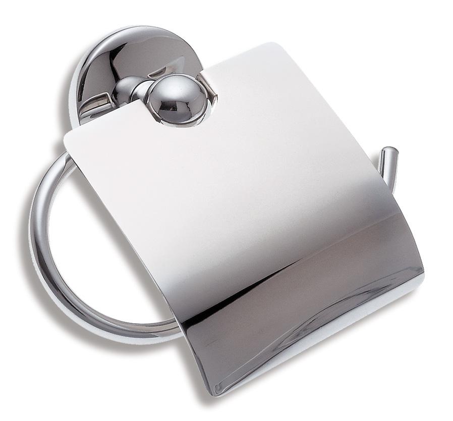 Závěs toaletního papíru s krytem Metalia 1 chrom