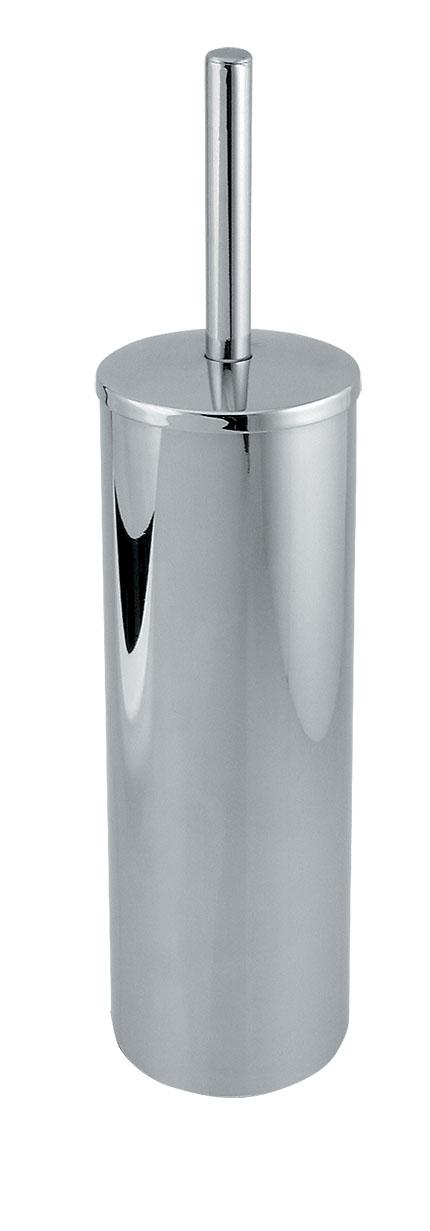 WC štětka tubus na postavení Metalia 1 chrom
