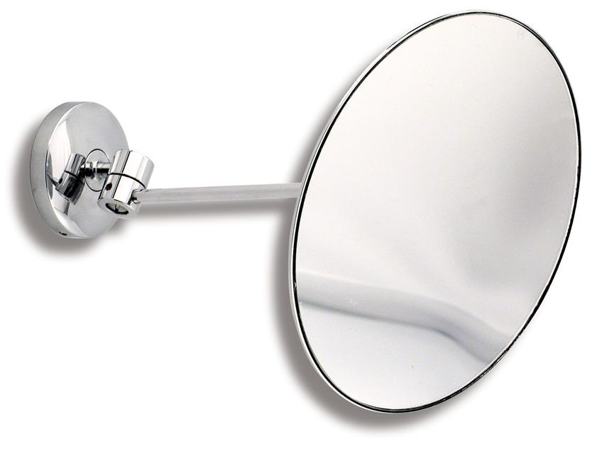 Kosmetické zrcátko zvětšovací Metalia 1 chrom
