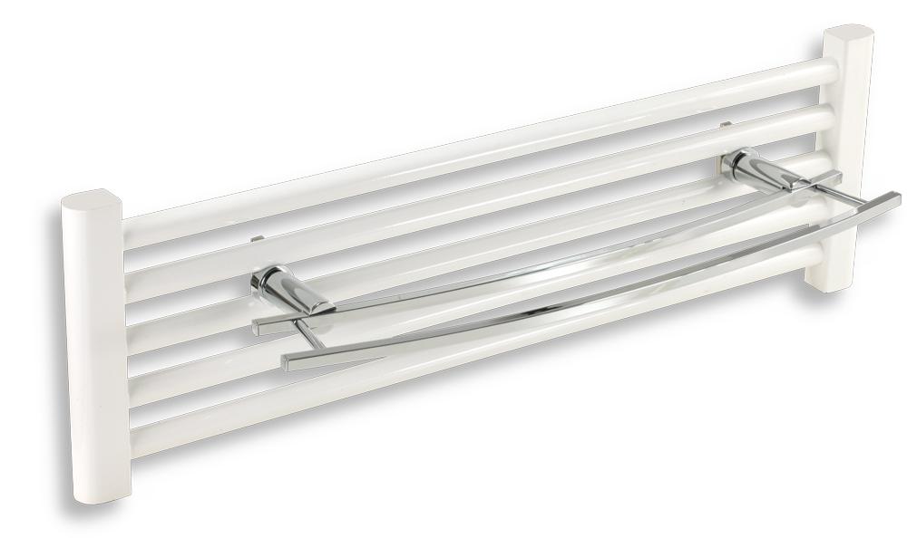 Dvojitý držákna otopný žebřík 600 mm Metalia 2 chrom