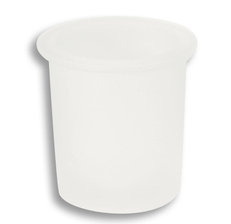 Sklo WC štětky pískované