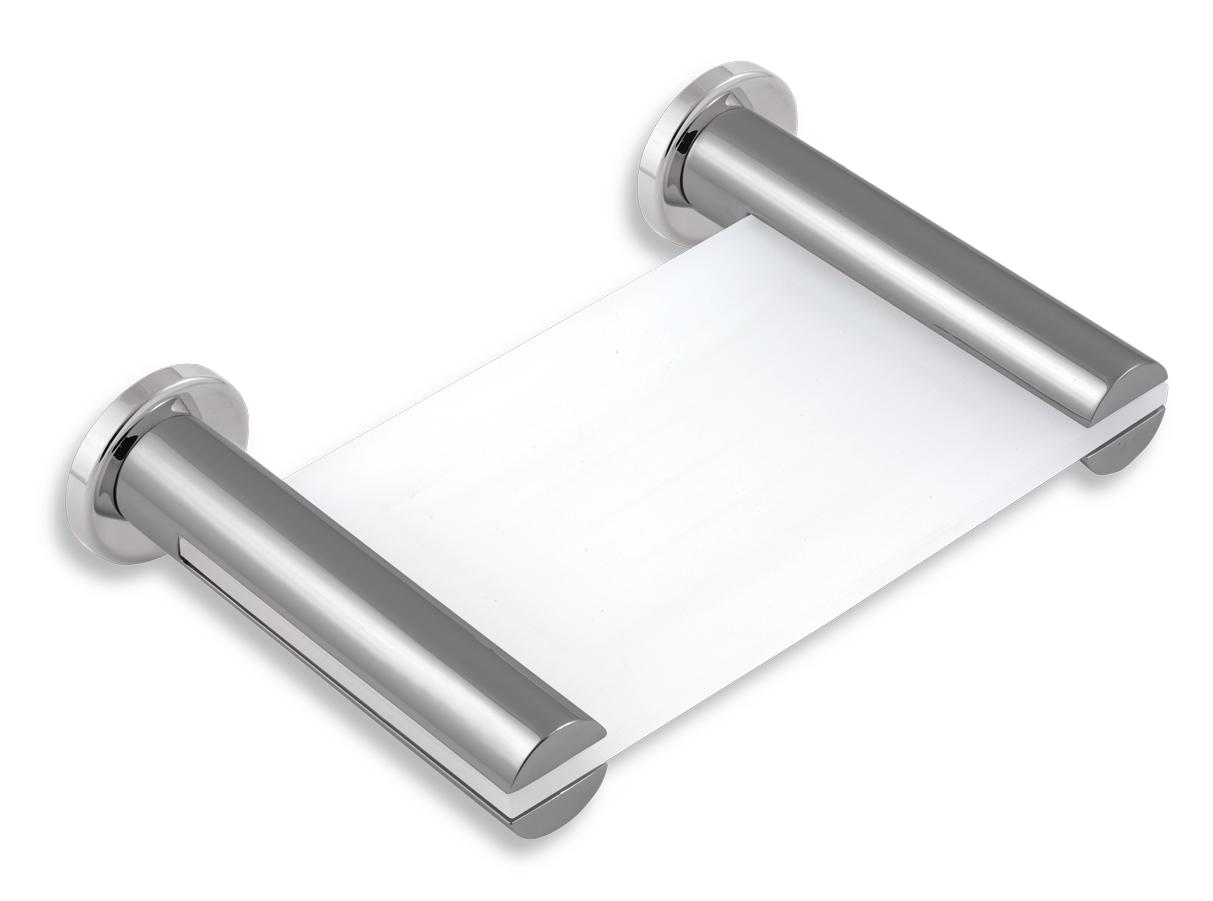 Mýdlenka sklo Metalia 2 chrom