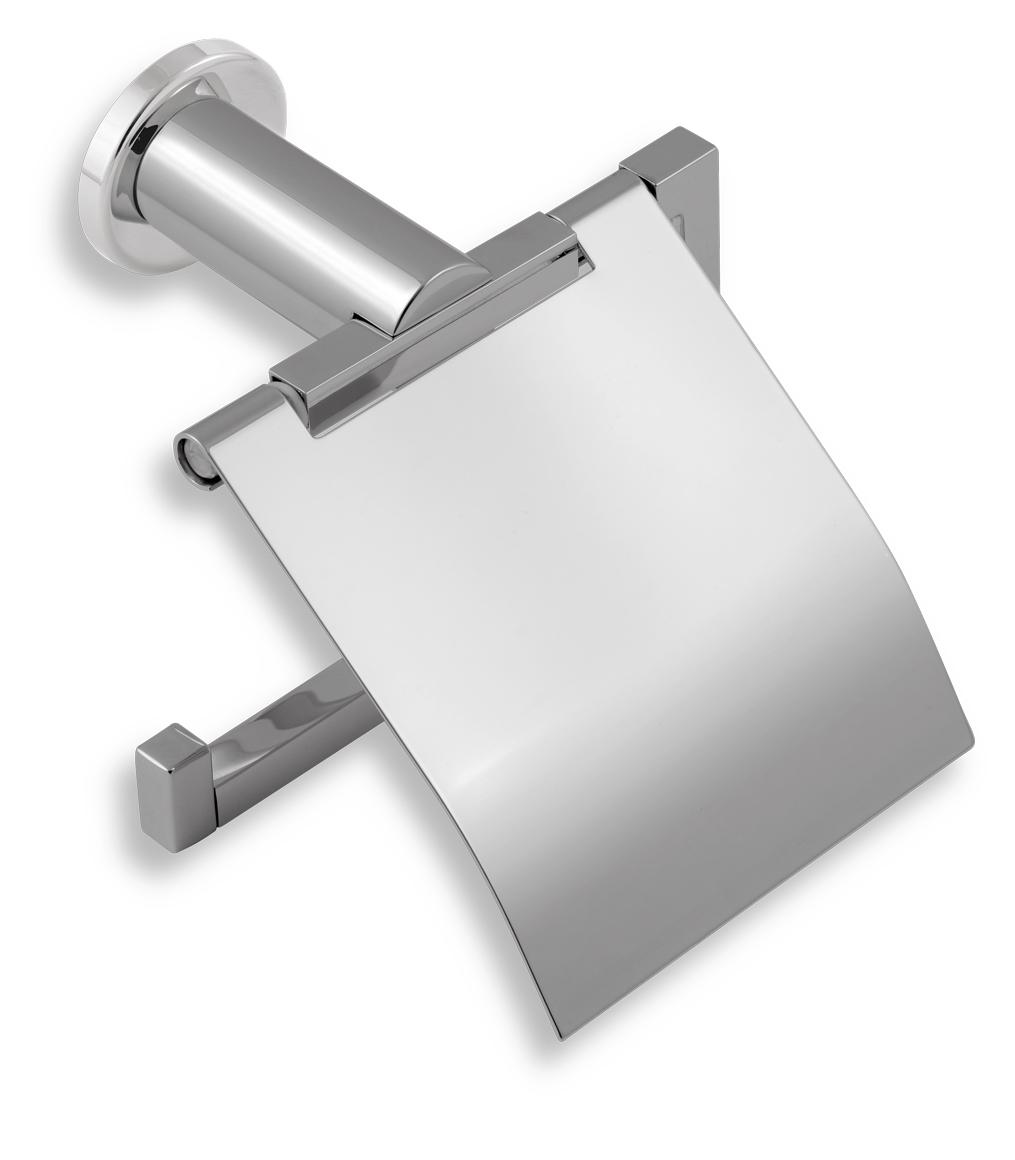 Závěs toaletního papíru s krytem Metalia 2 chrom