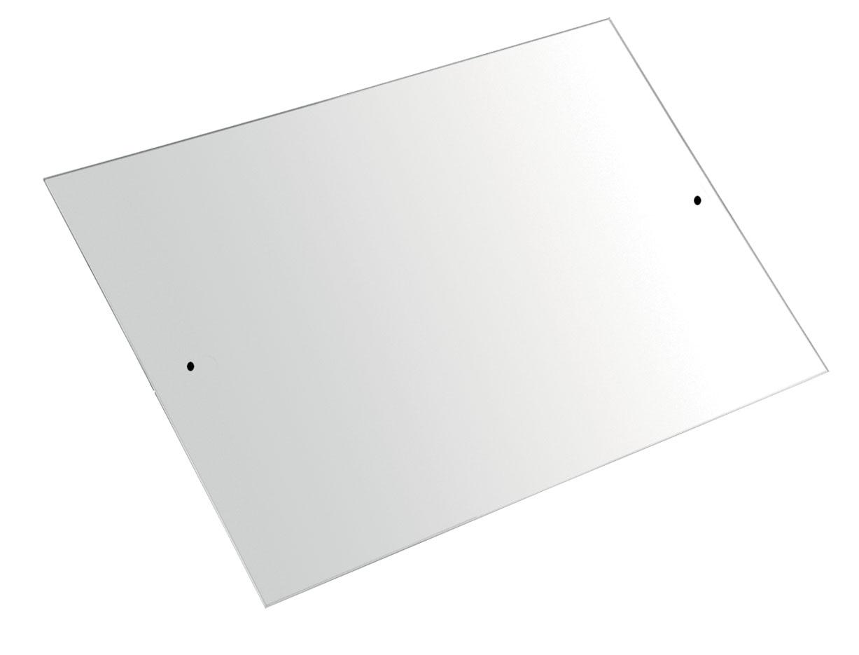 Zrcadlo obdélník 60 x 40 cm Metalia 3