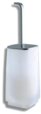 WC štětka na postavení Metalia 4 chrom
