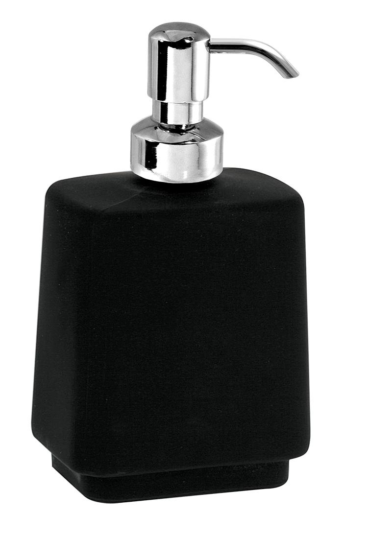 Dávkovač mýdla na postavení Metalia 4 černá-chrom