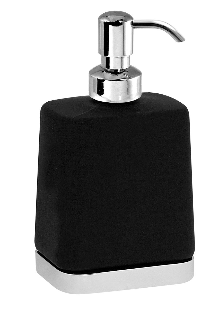 Dávkovač mýdla Metalia 4 černá-chrom