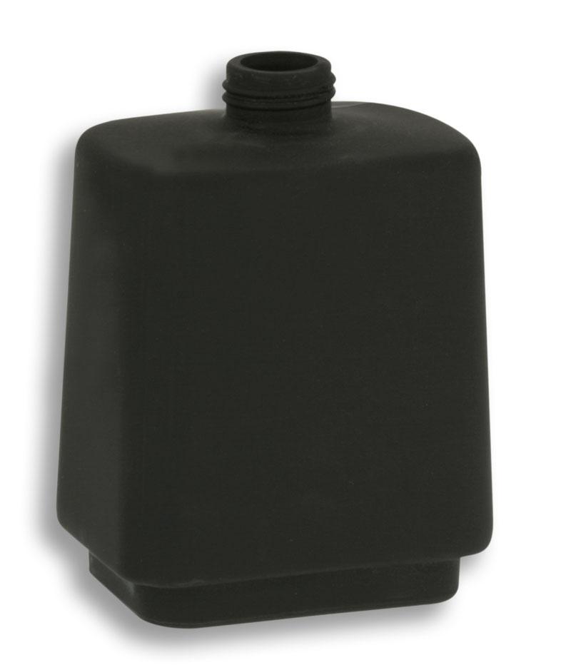 Sklo dávkovače mýdla černé sklo matované