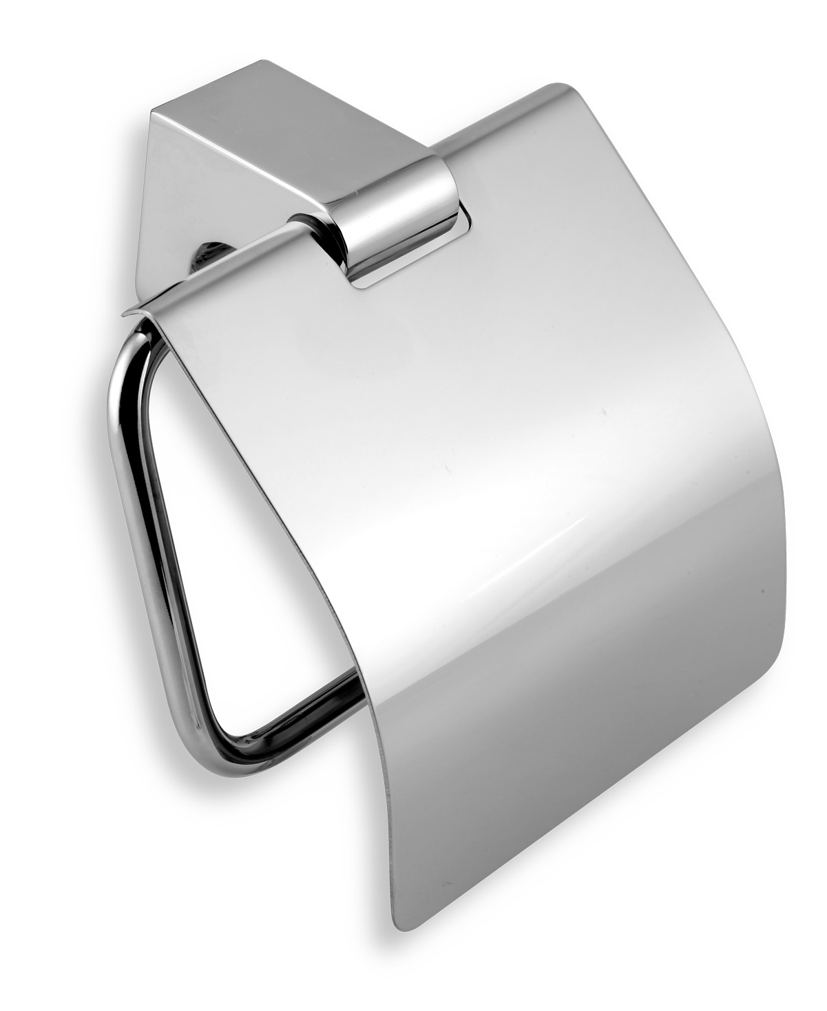 Závěs toaletního papíru s krytem AUDREY chrom