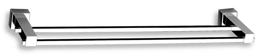 Dvojitý držák ručníků 450 mm Titania Anet chrom