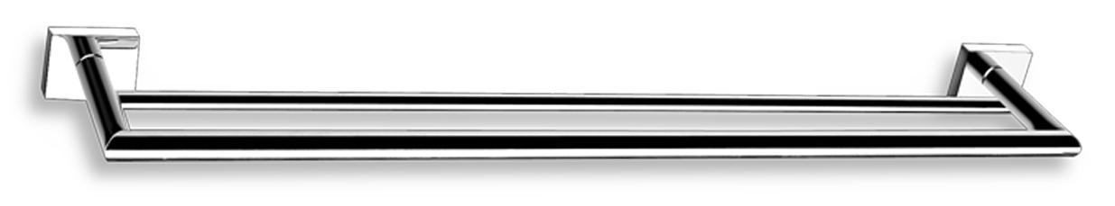 Dvojitý držák ručníků 600 mm Titania Elis chrom