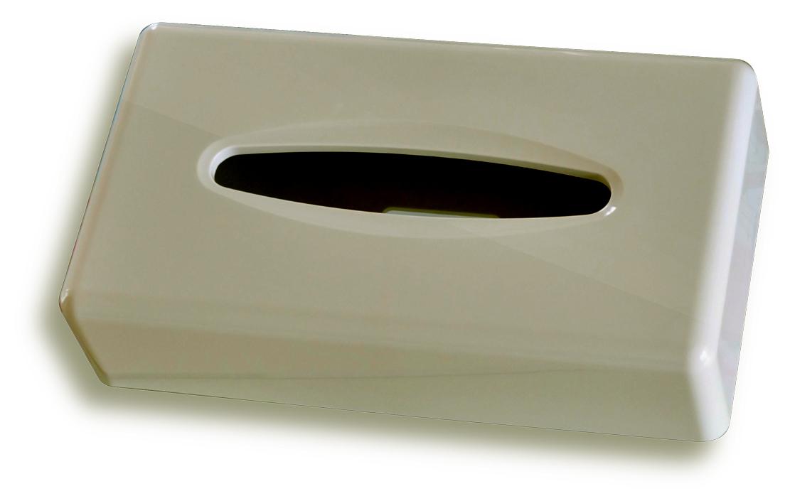 Zásobník na papírové kapesníky, bílý