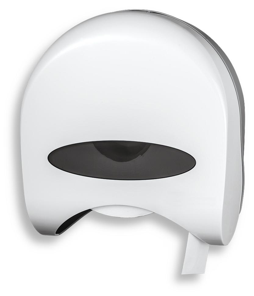 Zásobník na role toaletního papíru, bílý