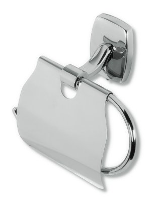 Závěs toaletního papíru s krytem Orfeus chrom