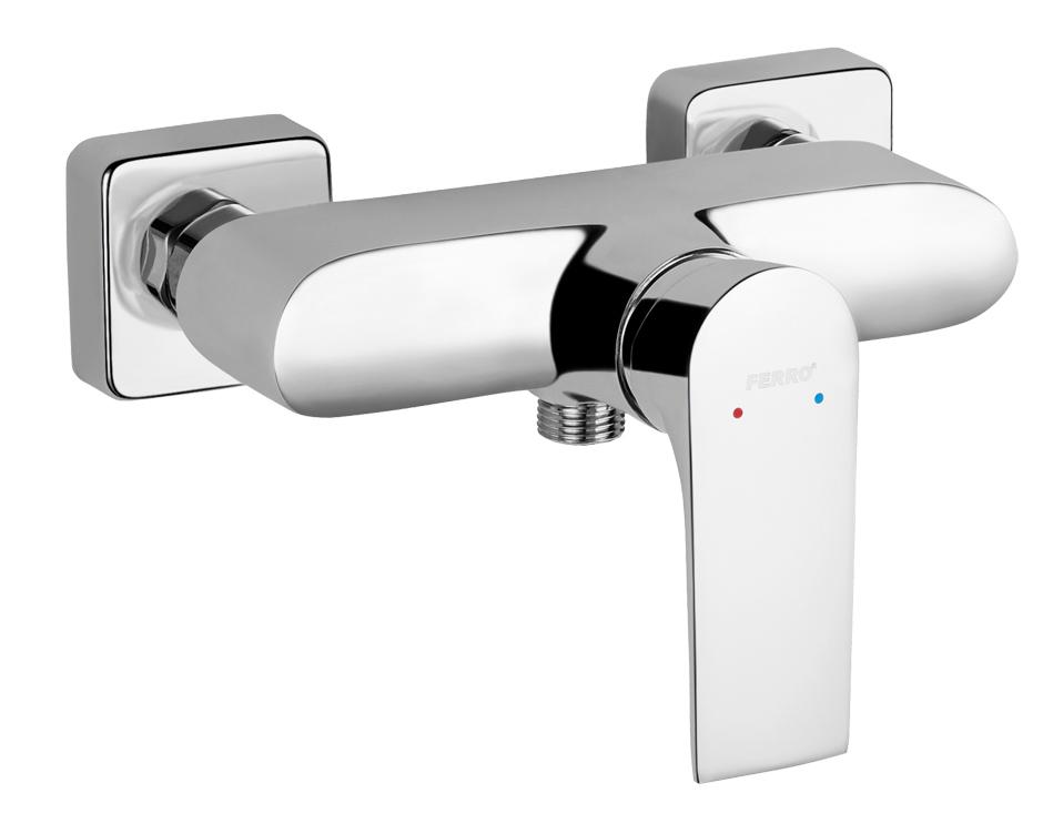 Nástěnná sprchová baterie bez přísl. ALGEO SQUAR chrom