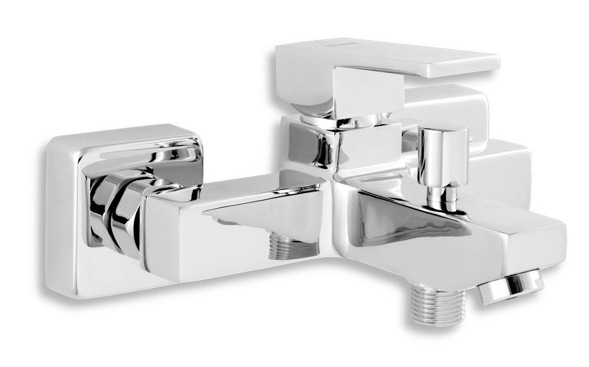 Novaservis Titania Cube Vaňová nástenná batéria bez sprchovej súpravy 150 mm, chróm, 98820/1,0