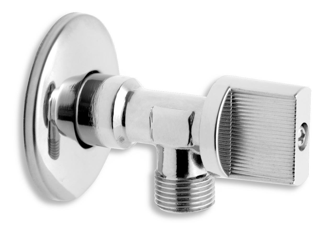 """Rohový ventil bez filtru 1/2""""x3/8"""""""