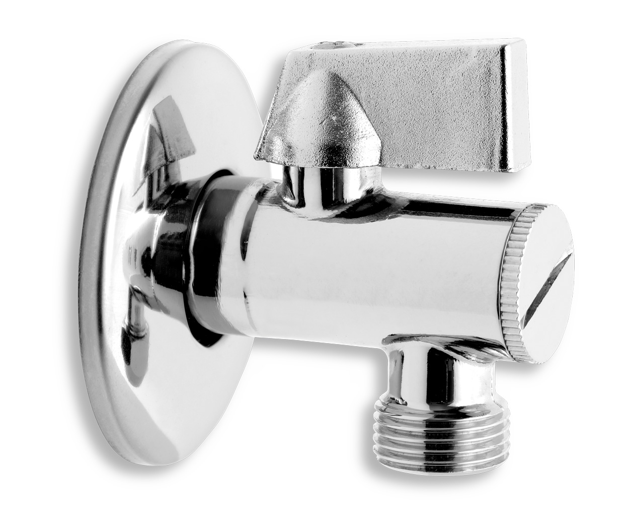 """Rohový ventil s filtrem hliníková páka 1/2""""x 3/8"""""""