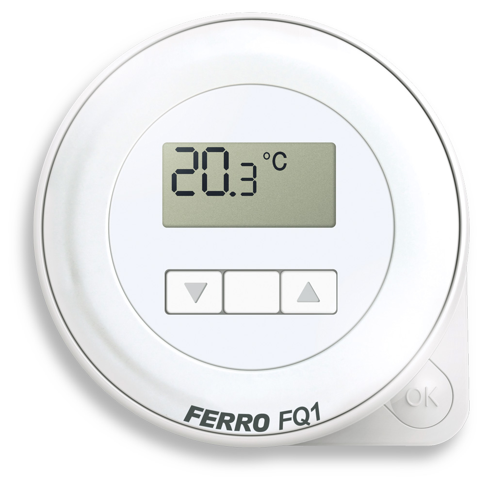 Elektronický pokojový termostat denní