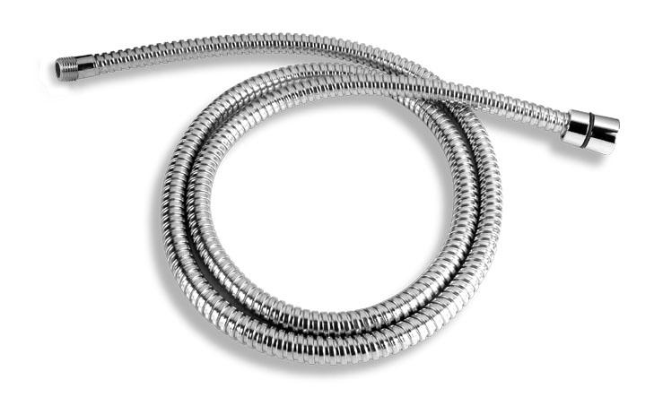 Hadice dřezové teleskopické baterie kovová chrom
