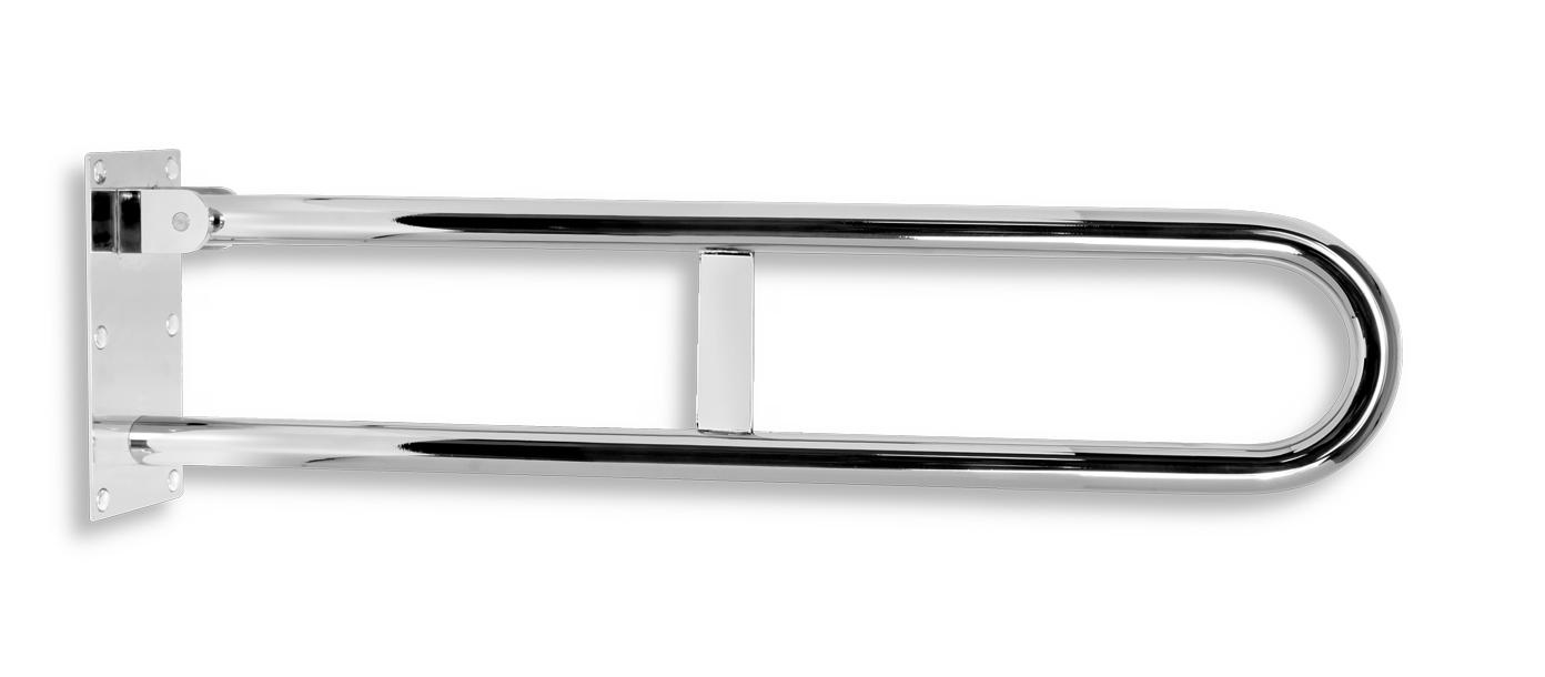 Úchyt dvojitý sklopný 572 mm leštěná nerez