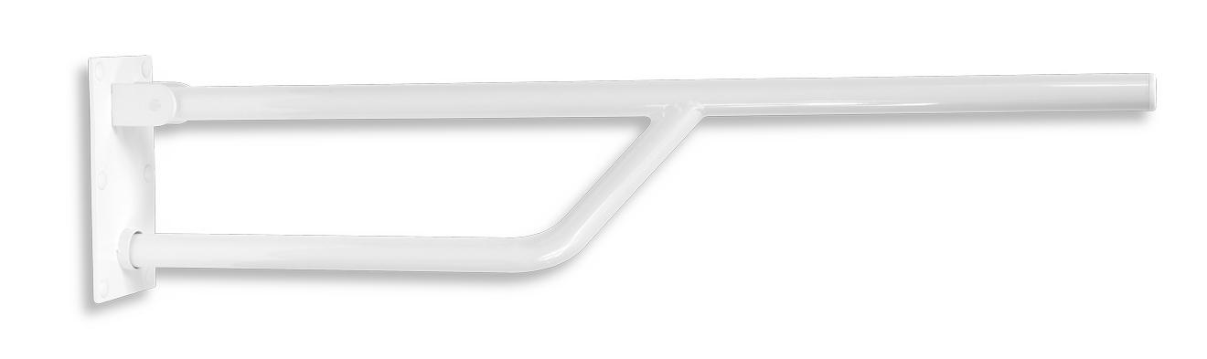 Úchyt jednoduchý sklopný 826 mm bílý