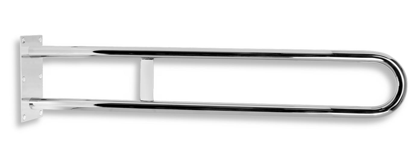 Madlo dvojité pevné 844mm leštěná nerez
