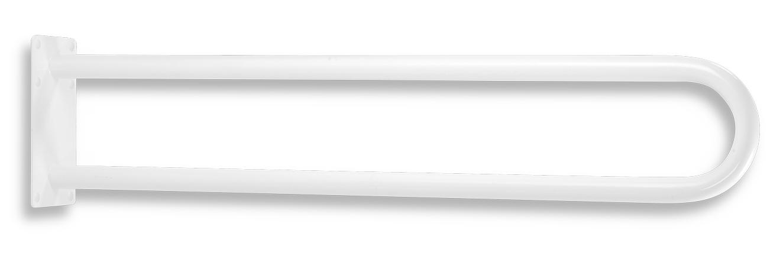 Madlo dvojité pevné 844 mm bílá