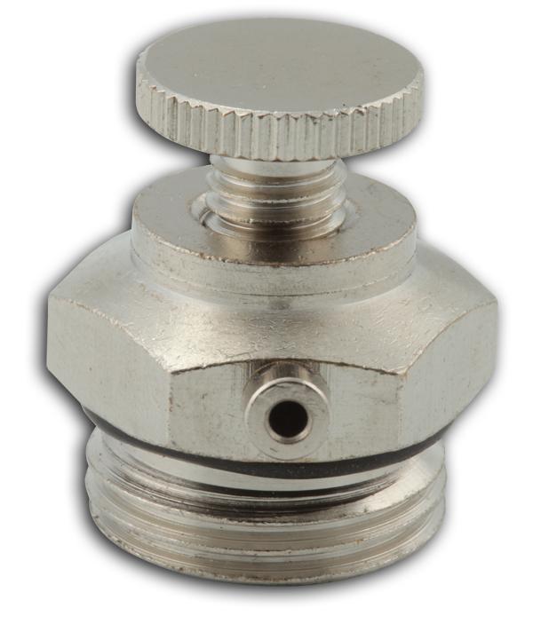 """Odvzdušňovací ventil kovový ruční 1/4"""""""