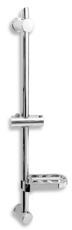 Posuvný držák sprchy s nastavitelnou roztečí