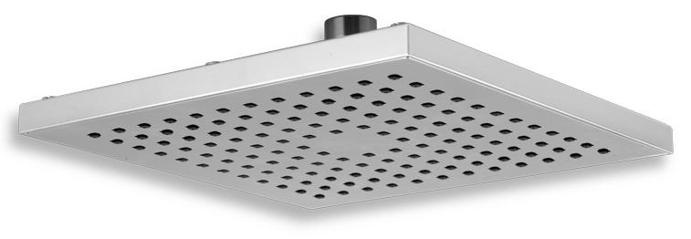 Pevná sprcha samočistící 200 x 200 mm chrom