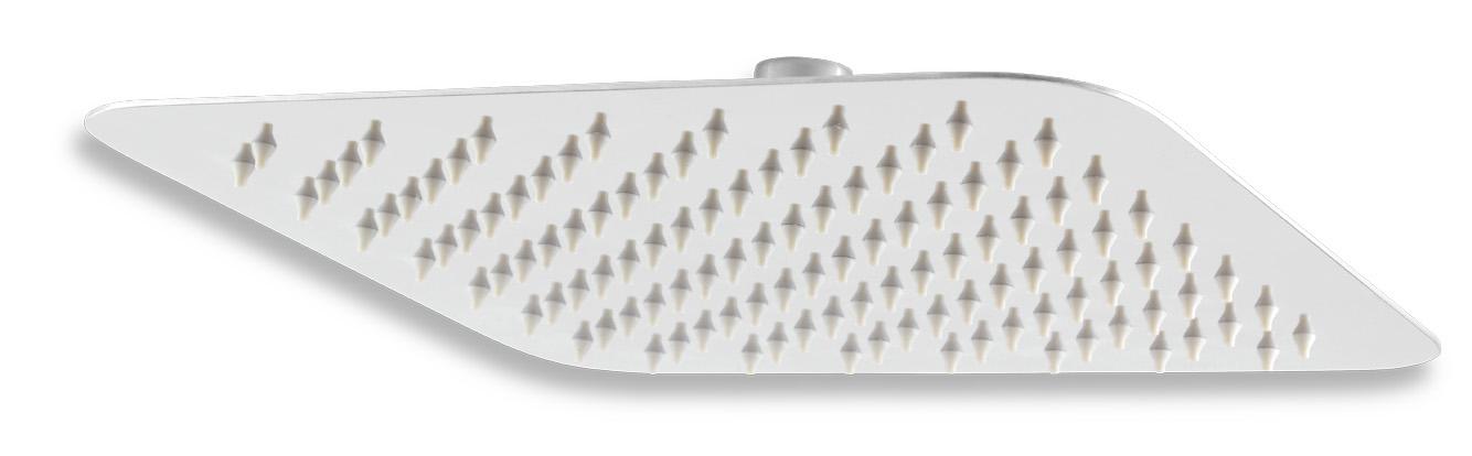 Pevná sprcha samočistící 250 x 250 mm nerez